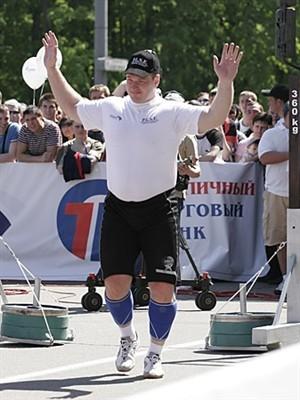Владимир Глушко – из тяжелоатлета в стронгмены