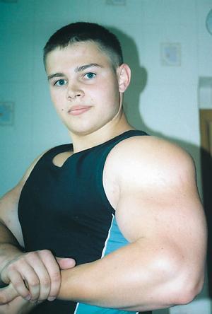 Алексей Лесуков - молодой Российский культурист