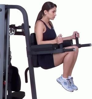 Подъемы ног - упражнения для пресса + видео
