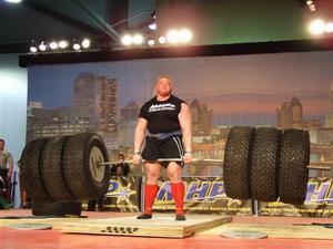 Мировой рекорд в становой тяге