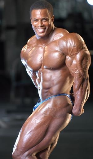 Ричард Джонс - американский профи IFBB