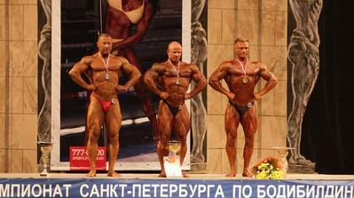 Результаты чемпионата Санкт-Петербурга по бодибилдингу