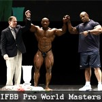 Результаты IFBB Pro World Masters Championship 2011