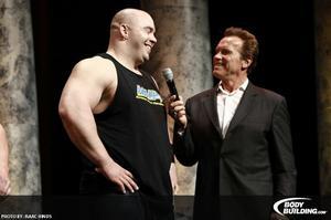 Выступление Михаила Кокляева на Arnold Strongman Classic 2012