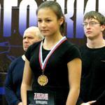 Владислава Длужневская - новая звезда жима лежа в России