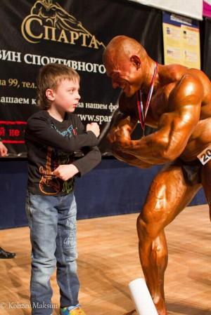 Результаты чемпионата Томской области по бодибилдингу и фитнесу