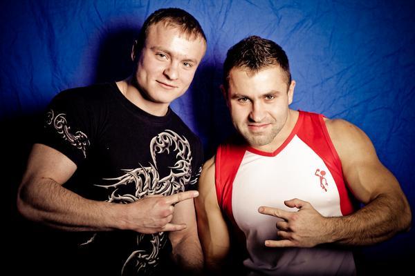 Роман Корошлишвили и Новиков Степан