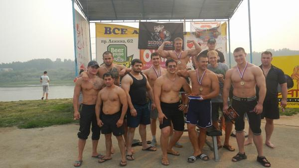 Результаты турнира по Русскому жиму - Битва под Солнцем