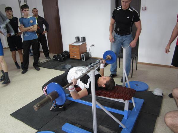 Первые соревнования по Русскому Жиму в Колпашево