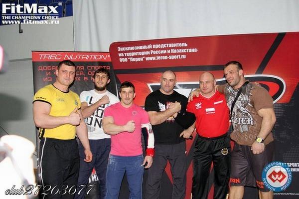 Результаты чемпионата России по армрестлингу 2013