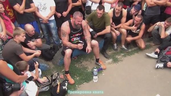 Семинар Сергея Бадюка по ОФП в Одессе