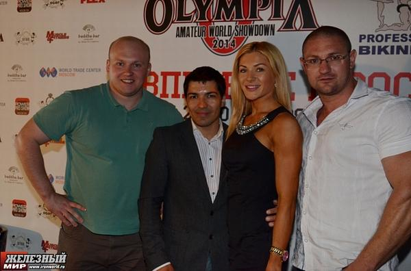 Мистер Олимпия в Москве