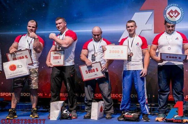 A1 RUSSIAN OPEN 2014 результаты