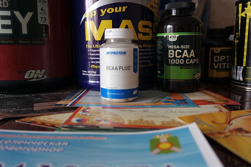 Обзор BCAA PLUS от Myprotein