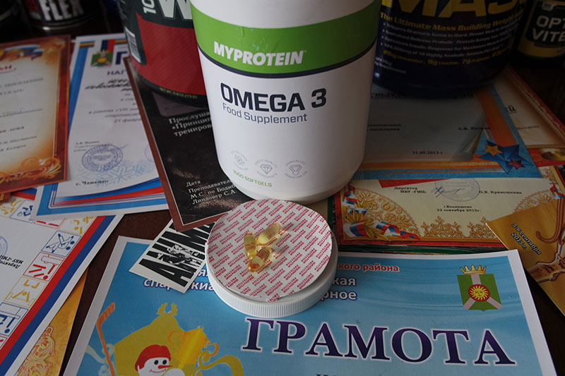 Обзор Омега-3 жирных кислот от MyProtein