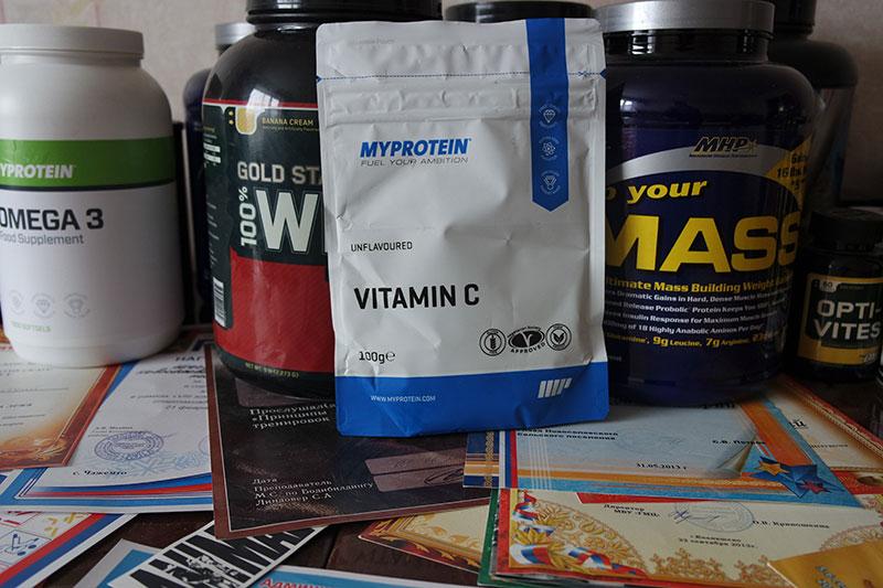 Обзор витамина С от MyProtein